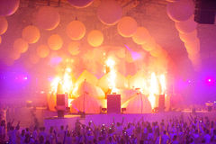 KIEV, UKRAINE - MAY 5: Sensation Innerspace show (ID&T) at the NEC on May 5, 2012 in Kiev, Ukraine Stock Photo