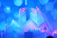 KIEV, UKRAINE - MAY 5: Sensation Innerspace show (ID&T) at the NEC on May 5, 2012 in Kiev, Ukraine Stock Photography