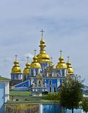Kiev, Ukraine, Mihaylovskiy monastery stock photos
