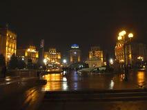kiev ukraine Nezalezhnosti van Maidan Royalty-vrije Stock Foto's