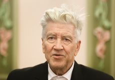 Legendary American film director and actor David Lynch Royalty Free Stock Image