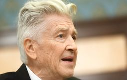 Legendary American film director and actor David Lynch Stock Image