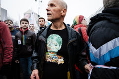 KIEV, UKRAINE - NOVEMBER 24: EuroMaidan Royalty Free Stock Image