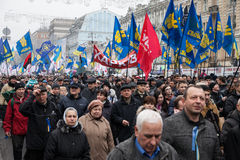 KIEV, UKRAINE - NOVEMBER 24: EuroMaidan Stock Photos