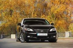Kiev, Ukraine - November 5, 2018: Lexus ES 350 royalty free stock photos