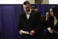 KIEV,UKRAINE - November 15, 2015: Vitali Klitschko Royalty Free Stock Image