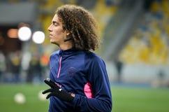 KIEV, UKRAINE - 29 novembre 2018 : Matteo Guendouzi pendant la correspondance d'UEFA Europa League entre Vorskla Poltava contre l photo stock