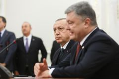 Turkish President Recep Tayyip Erdogan Stock Photography