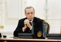 Turkish President Recep Tayyip Erdogan Royalty Free Stock Photo