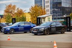 Kiev, Ukraine - OCTOBER 10, 2015: Mercedes Benz Royalty Free Stock Photography