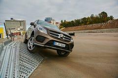 Kiev, Ukraine - OCTOBER 10, 2015: Mercedes Benz Royalty Free Stock Images