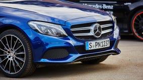 Kiev, Ukraine - OCTOBER 10, 2015: Mercedes Benz Stock Image