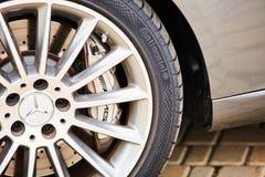 Kiev, Ukraine - 4 octobre 2016 : Expérience d'étoile de Mercedes Benz La série intéressante de commandes d'essai Image stock