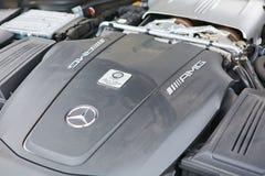 Kiev, Ukraine - 4 octobre 2016 : Expérience d'étoile de Mercedes Benz La série intéressante de commandes d'essai Photo stock