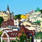 Kiev, Ukraine. Old houses Stock Image