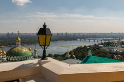 Kiev, Ukraine, panoramic city view Stock Photos