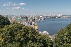 Kiev, Ukraine, panoramic city view Stock Photography