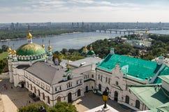 Kiev, Ukraine, panoramic city view Stock Images