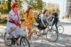 Kiev Ukraine Retro Cruise May 2018 stock photos