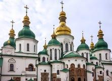 Kiev - Ukraine Saint Sophia Monastery Cathedral, UNESCO. World Heritage Stock Photography
