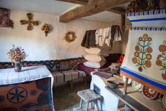 KIEV, UKRAINE - SEPTEMBER 18, 2016: Interior of old home. Royalty Free Stock Photo