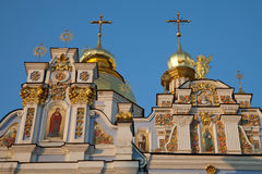 Kiev, ukraine, St Michael monastery Stock Photography