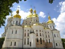 Kiev. Ukraine. Uspenski Cathedral The Great Church in Kiev-Pechersk Lavra, Kiev, Ukraine Royalty Free Stock Photography