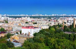 Kiev, Ukraine. View of the Podol Royalty Free Stock Photography