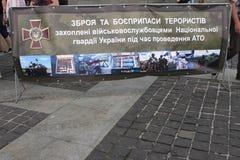 KIEV, UKRAINE, weapons Royalty Free Stock Image