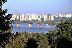 Kiev - uma capital de Ucrânia no verão Fotografia de Stock Royalty Free