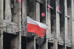 Kiev under ockupation av katolska bönder från västra Ukraina royaltyfria foton