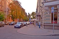 Kiev, vecchia città Immagine Stock Libera da Diritti