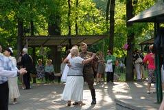 KIEV, veteranenviering van Victory Day Stock Afbeeldingen