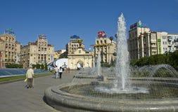 Kiev, vierkant van Onafhankelijkheid royalty-vrije stock fotografie