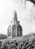 Kiev View of Monument to Prince Vladimir 1964 Royalty Free Stock Images