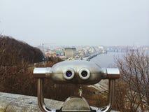 Kiev. Walk. Eyes in Kiev Royalty Free Stock Images