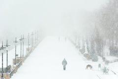 Kiev in the winter Stock Images