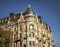 Kiev. Yaroslaviv Val Street Stock Photos