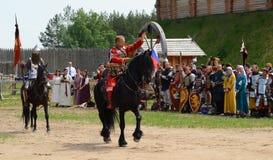 Kievan Rus Nobleman Immagini Stock