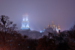 kievo大修道院pecherskaya 库存图片