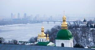 Kievo-Pecherskaya lavra in Kiev. Ukraine. Royalty Free Stock Image