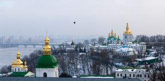 Kievo-Pecherskaya lavra in Kiev. Ukraine. Royalty Free Stock Photos