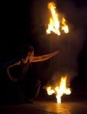 Kiew-Feuer Fest 2011 Stockbilder