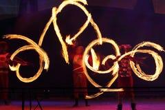Kiew-Feuer Fest 2013 Lizenzfreies Stockfoto