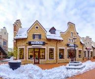 Kiew im Schnee Lizenzfreie Stockfotos