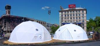 Kiew im Stadtzentrum gelegen, auf Maydan Nezalejnosti, Ukraine Lizenzfreies Stockbild