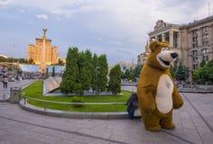 Kiew Maidan Nezalezhnosti Lizenzfreies Stockfoto