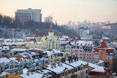 Kiew-Panorama Stockfotografie