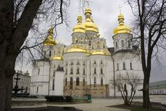 Kiew Pechersk Lavra Stockfotos