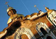 Kiew Pechersk Lavra oder Kyiv Pechersk Lavra, Frühling Lizenzfreie Stockbilder